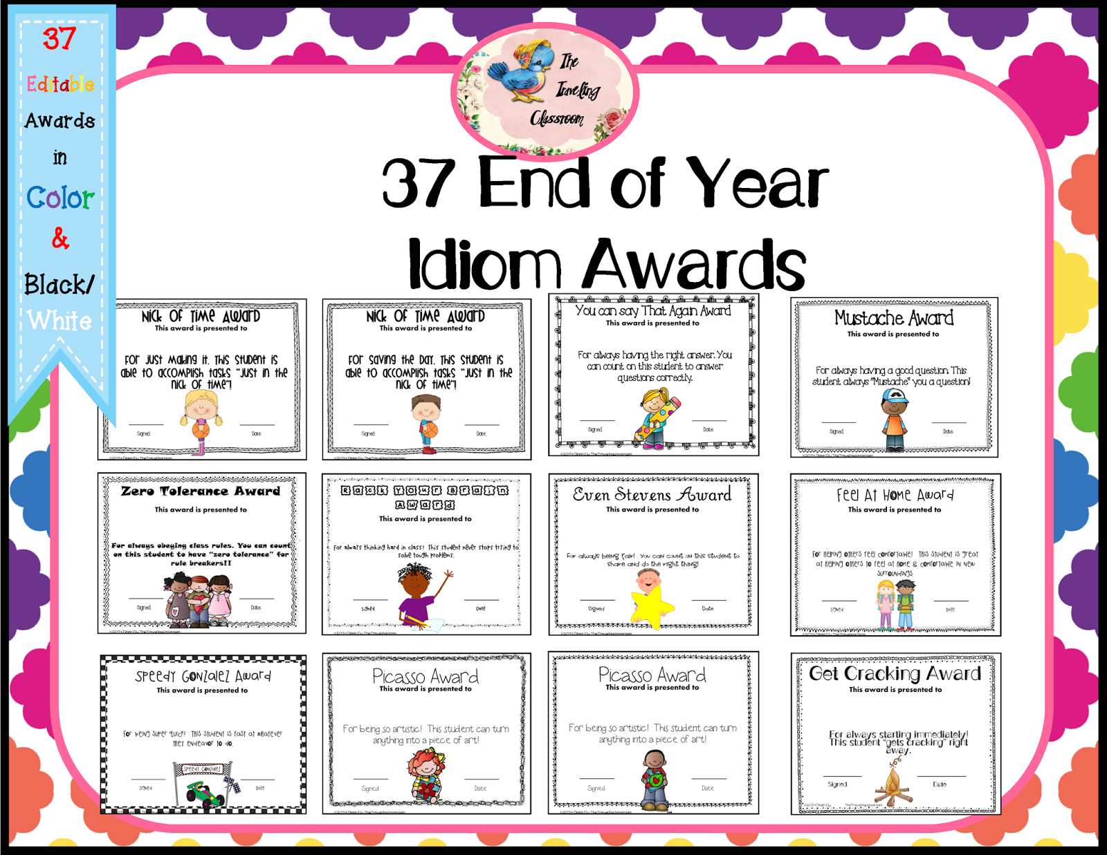 End Of The Year Awards Clipart.