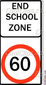 Australian road sign Vector Clip art.