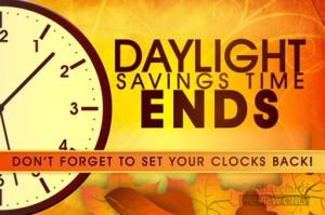 Daylight savings time ends clip art.
