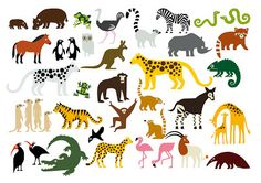 Endangered Species Clip Art.