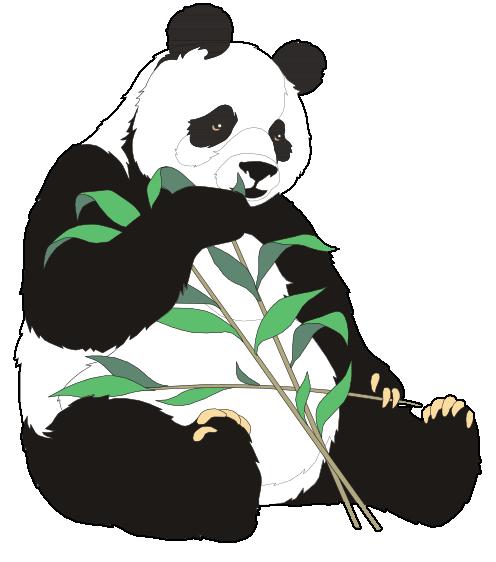 free clipart panda bear - Clipground