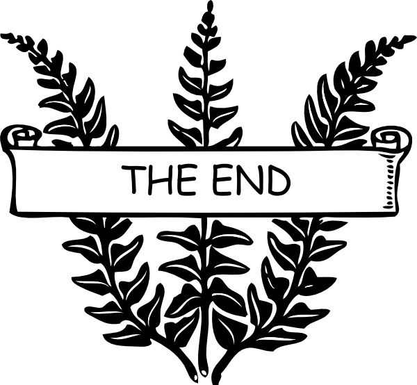 Ending Clipart.