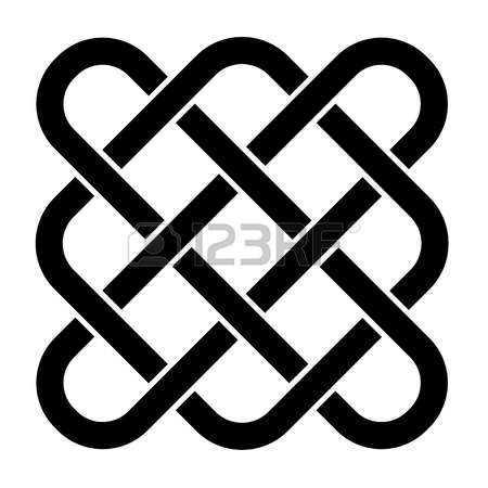1,028 Endless Knot Stock Vector Illustration And Royalty Free.