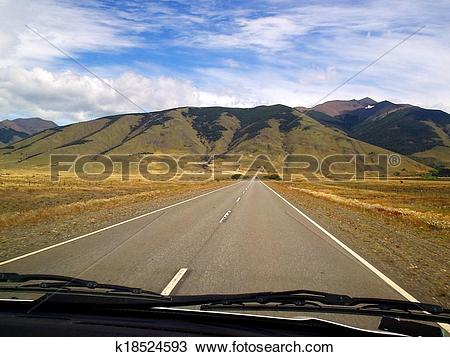 Stock Photo of Endless Road k18524593.