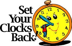 Clip Art Daylight Savings Time Ends Clipart.