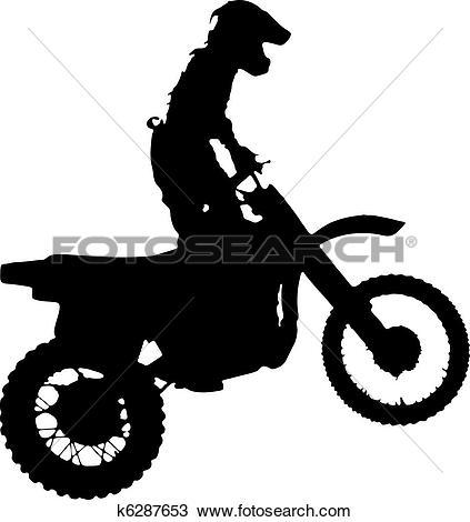 Stock Illustration of Moto Cross Air. k0359539.