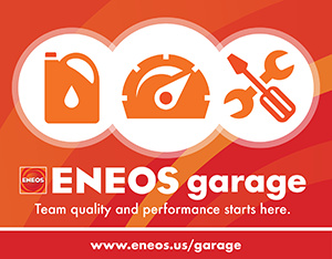 ENEOS garage thank you.