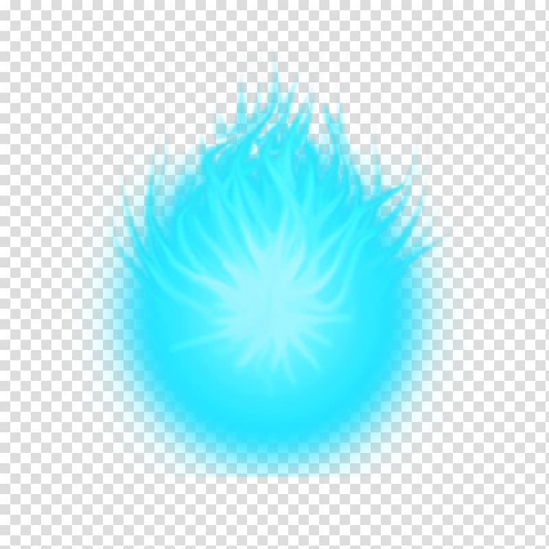 Blue flame , Energy Ball Special Effects Light, Energy ball.