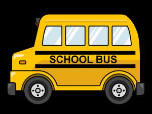 Energy Bus Cartoon Clipart.