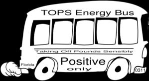 Tops Energy Bus Clip Art at Clker.com.