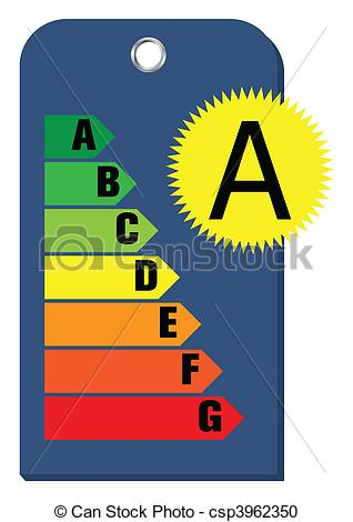 Vector Clipart of Energy class template.