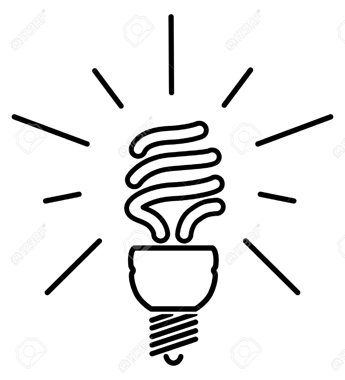 Energy Clipart Black And White.