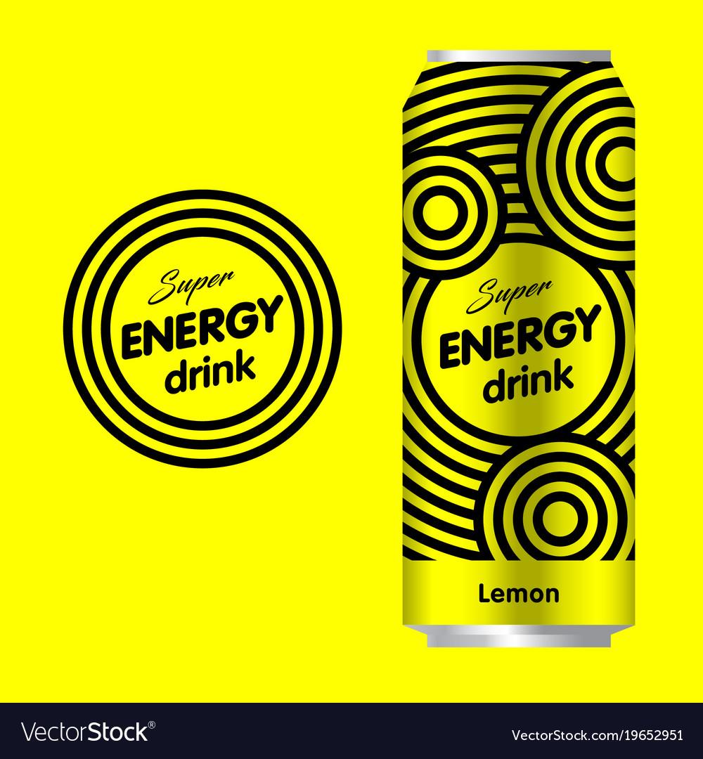 Energy drink logo.