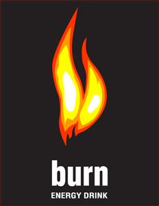 BURN ENERGY DRINK Logo Vector (.PDF) Free Download.