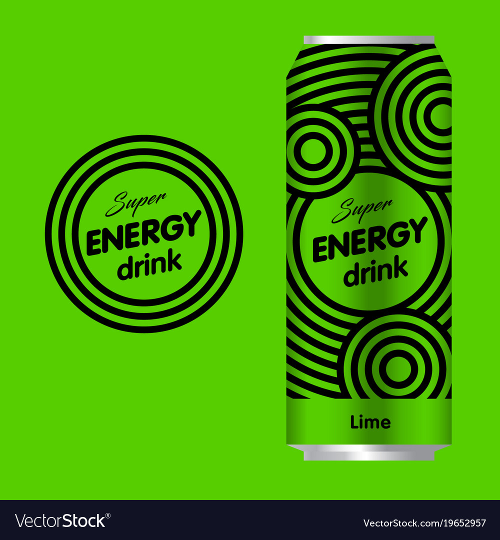 Energy drink logo.