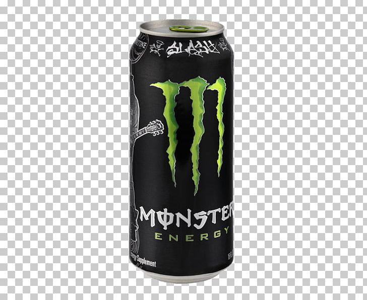 Monster Energy Sports & Energy Drinks Fizzy Drinks PNG.