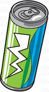 Energy Drinks Clipart.