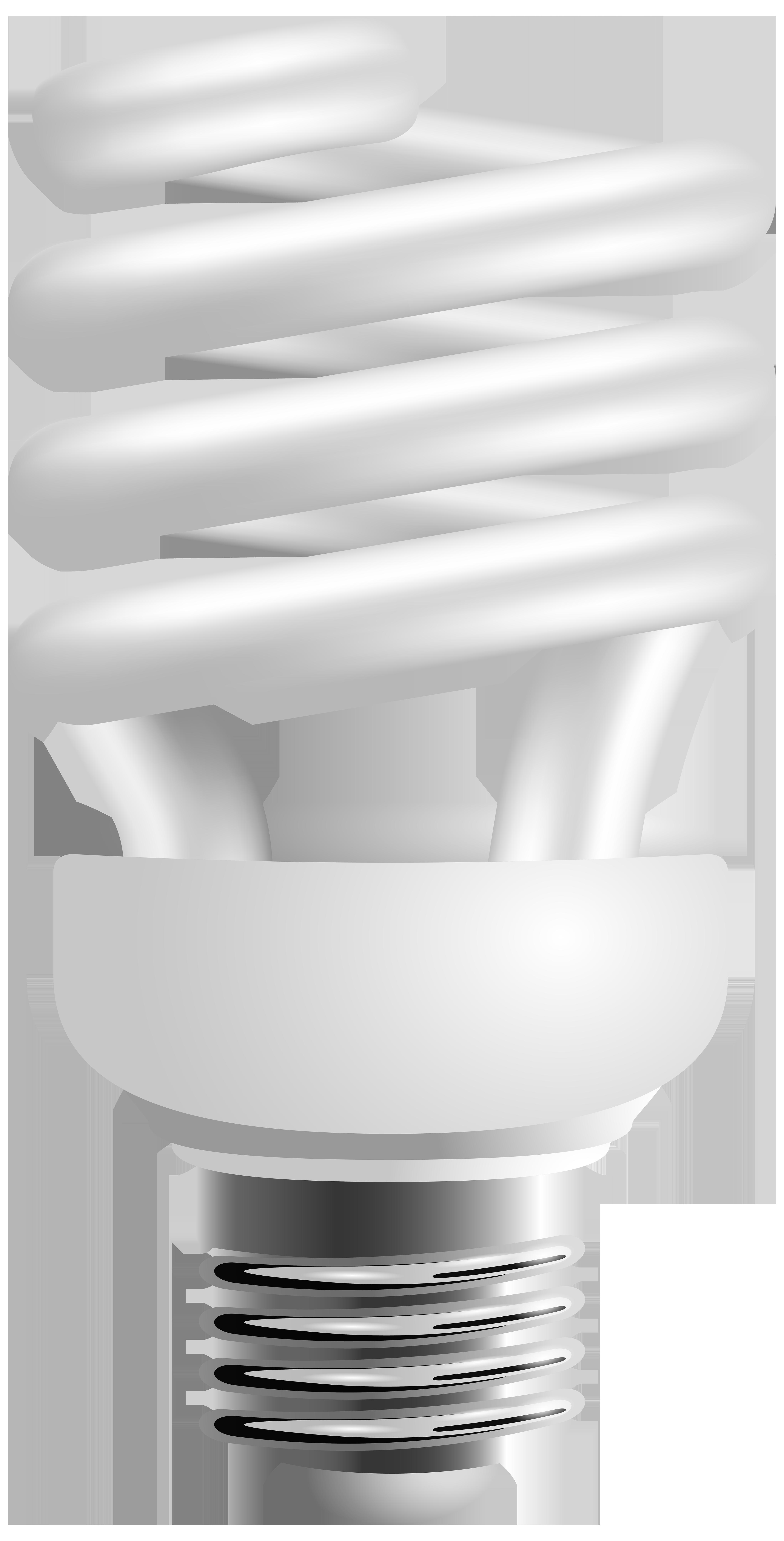 Energy Saving Light Bulb PNG Clip Art.