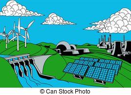 Energy generation Clipart Vector Graphics. 18,630 Energy.