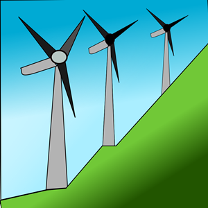Windmills clipart, cliparts of Windmills free download (wmf, eps.