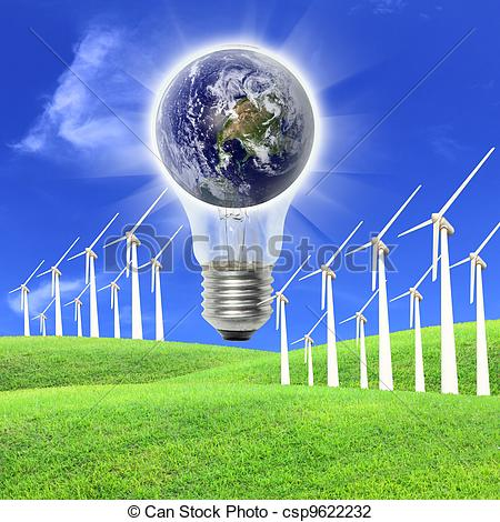 Wind energy clipart.