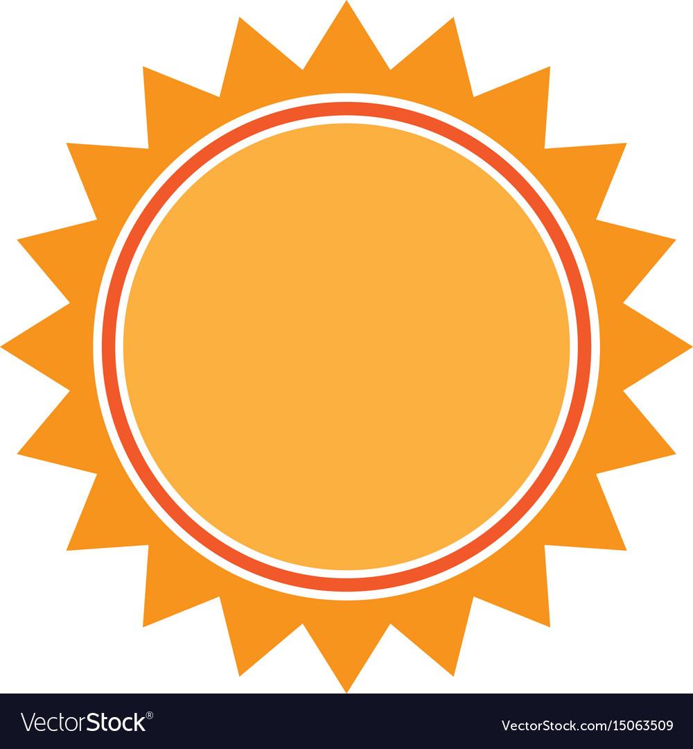 Sun light energy sunlight symbol.