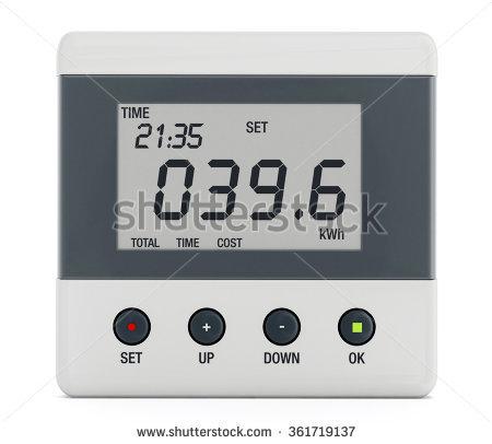 Energy Meter Stock Photos, Royalty.