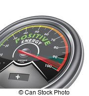 Clip Art Vector of Energy meter.