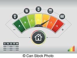 Clip Art Vector of Energy meter csp14220165.