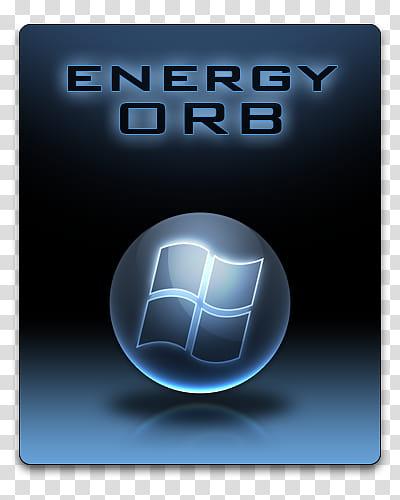 Energy Orb, Energy Orb logo transparent background PNG.