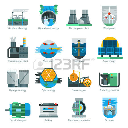 14,035 Energy Production Stock Vector Illustration And Royalty.