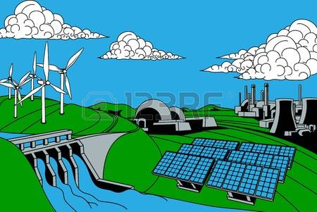 861 Energy Sources Stock Vector Illustration And Royalty Free.