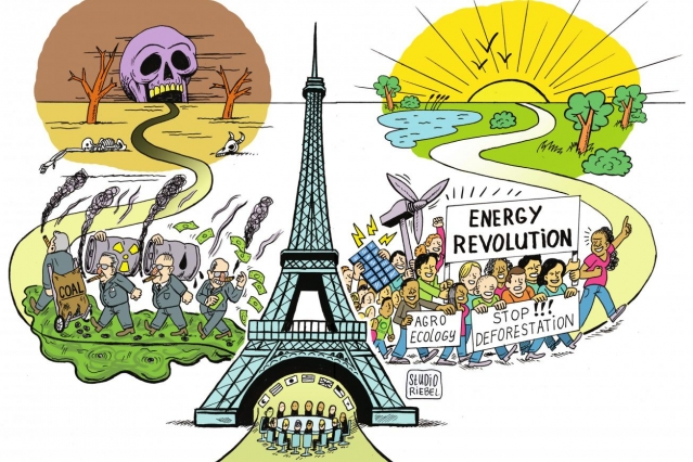 People power will shine at Paris climate summit.