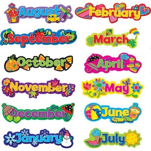 El calendario: enero, febrero, marzo,abril,mayo….
