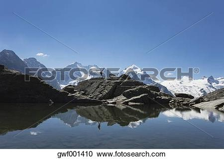 Stock Photography of Europe, Switzerland, Grisons, South Engadin.