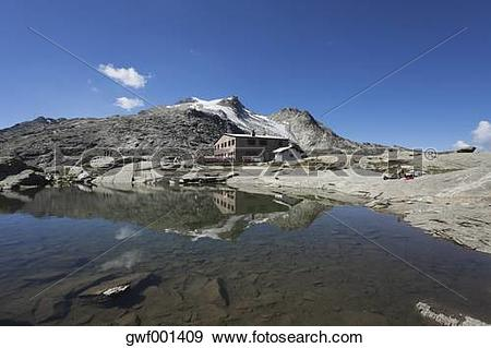 Stock Photograph of Europe, Switzerland, Grisons, Upper Engadin.