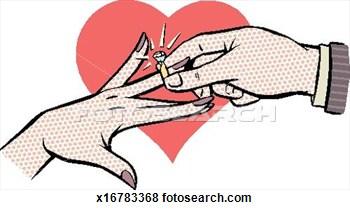 Engagement Clipart.