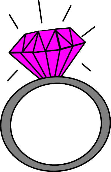 Diamond Ring Clipart Engagement Graphics Illustrations Free Png.