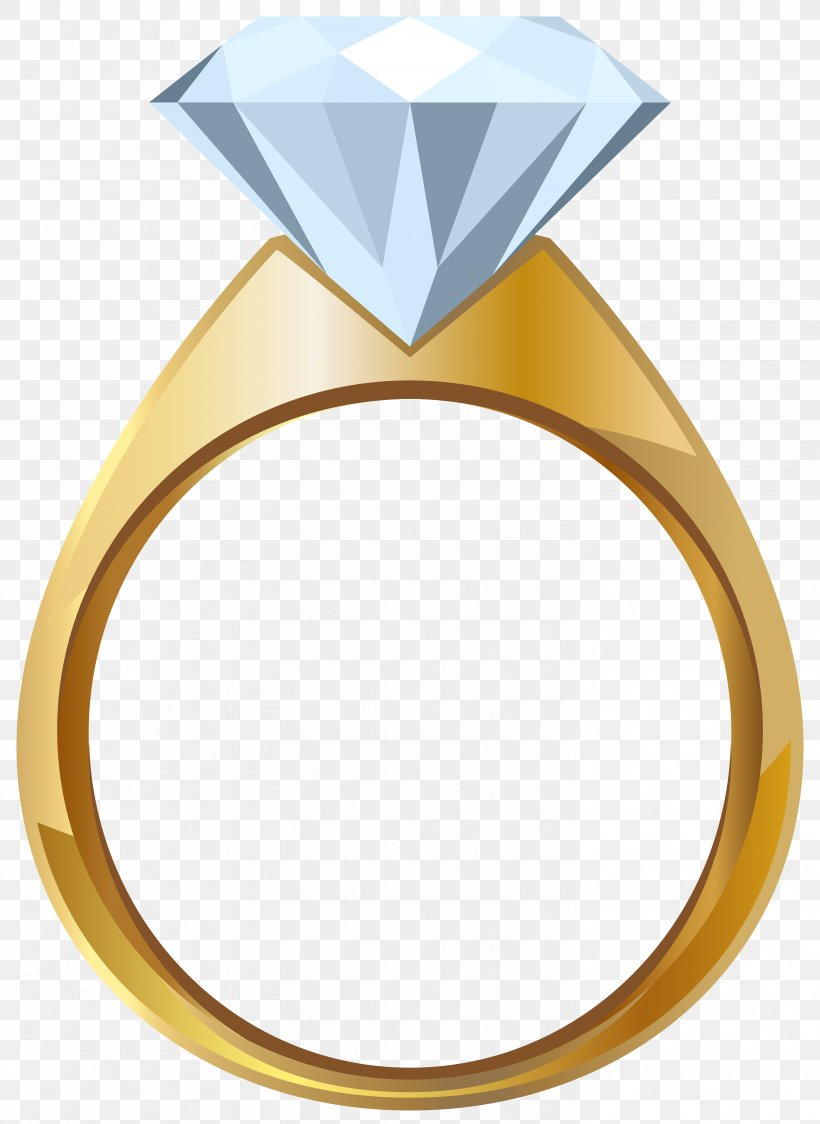 Wedding Ring Gold Engagement Ring Clip Art, PNG, 5835x8000px.
