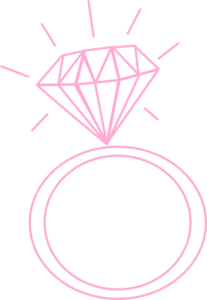 Diamond Ring Clipart No Background.