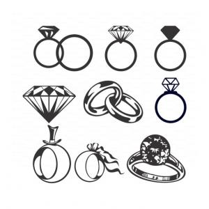 diamond ring Engagement ring vector at free for personal use.