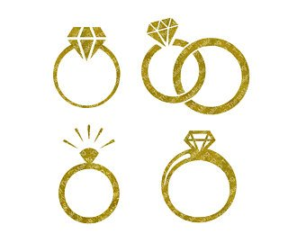Engagement Rings Clipart (79+ images in Collection) Page 1.