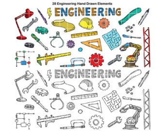 PNG Bundle Clipart STEAM Science Technology Engineering.