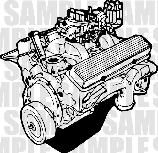 Engine Clip Art.