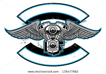 Motorcycle Engine Stock Photos, Royalty.