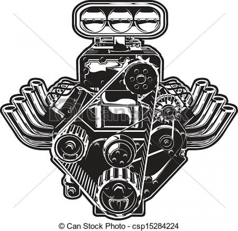 engine clipart and stock illustrations 60897 engine vector eps.