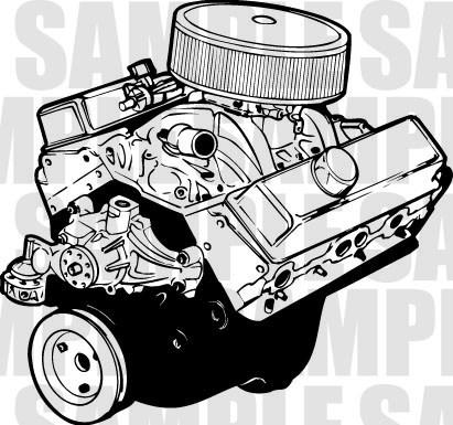 Engine clipart.