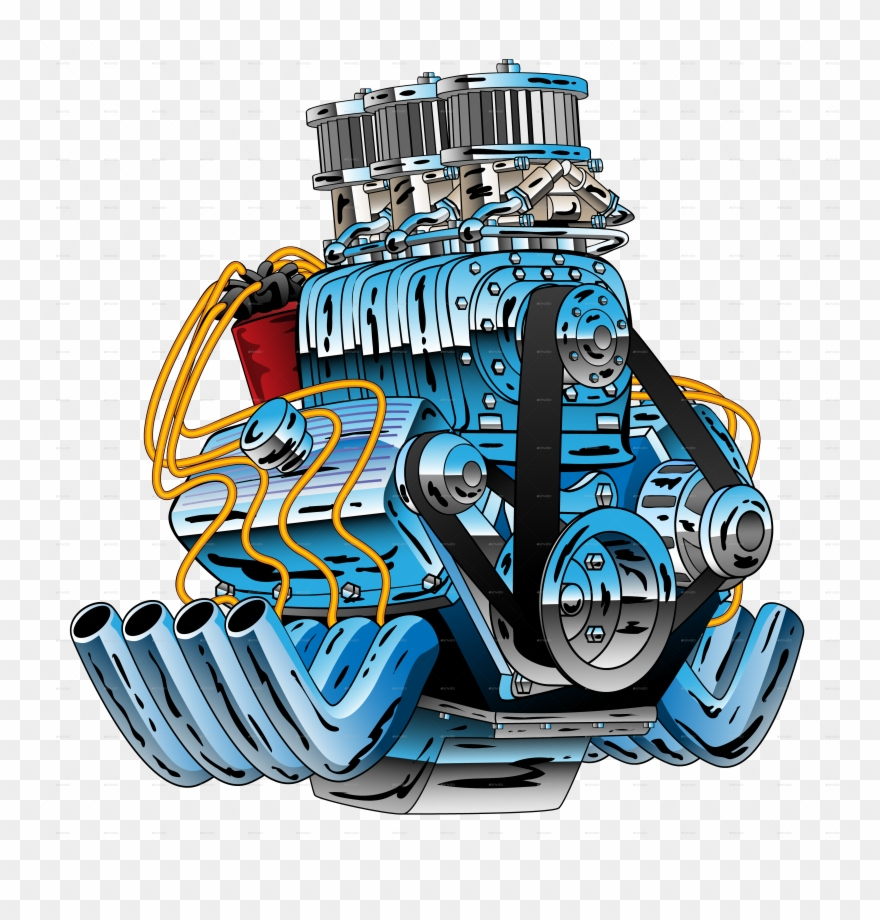 Car Engine Png.