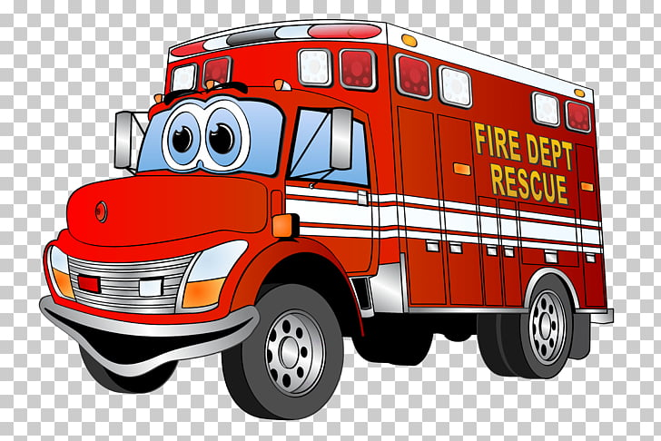 Fire engine Car , fire truck PNG clipart.
