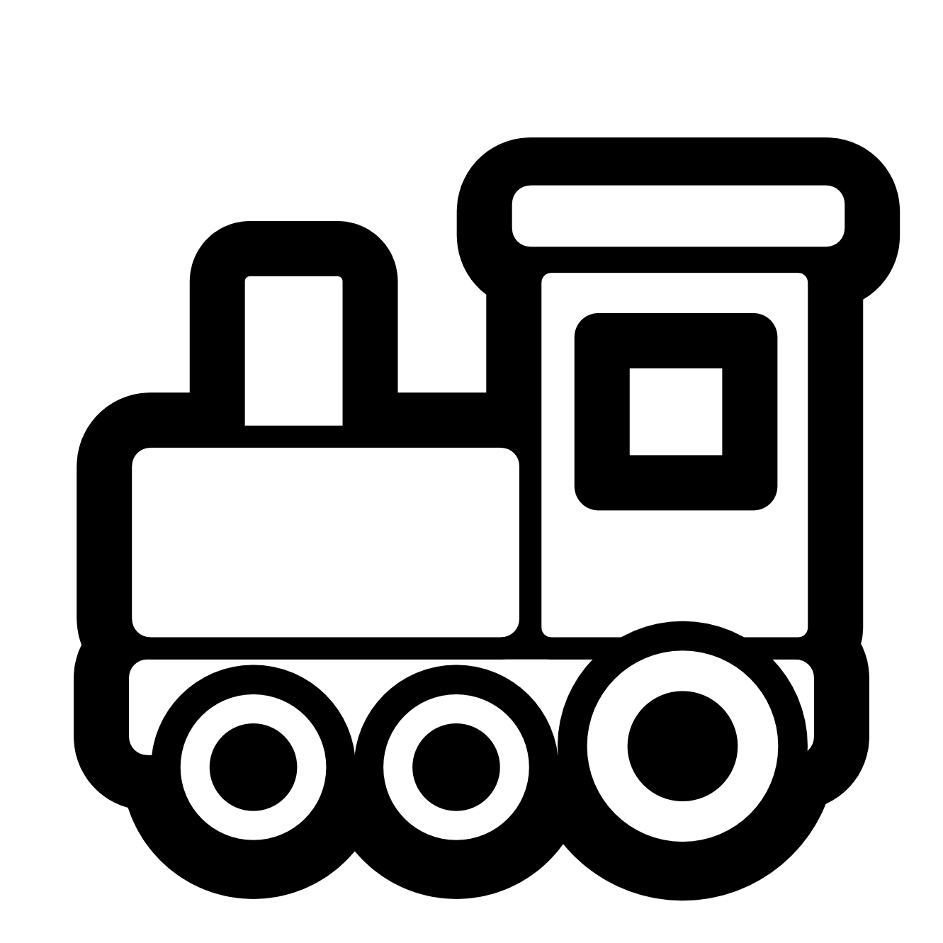 Free Train Engine Clipart Black And White, Download Free.